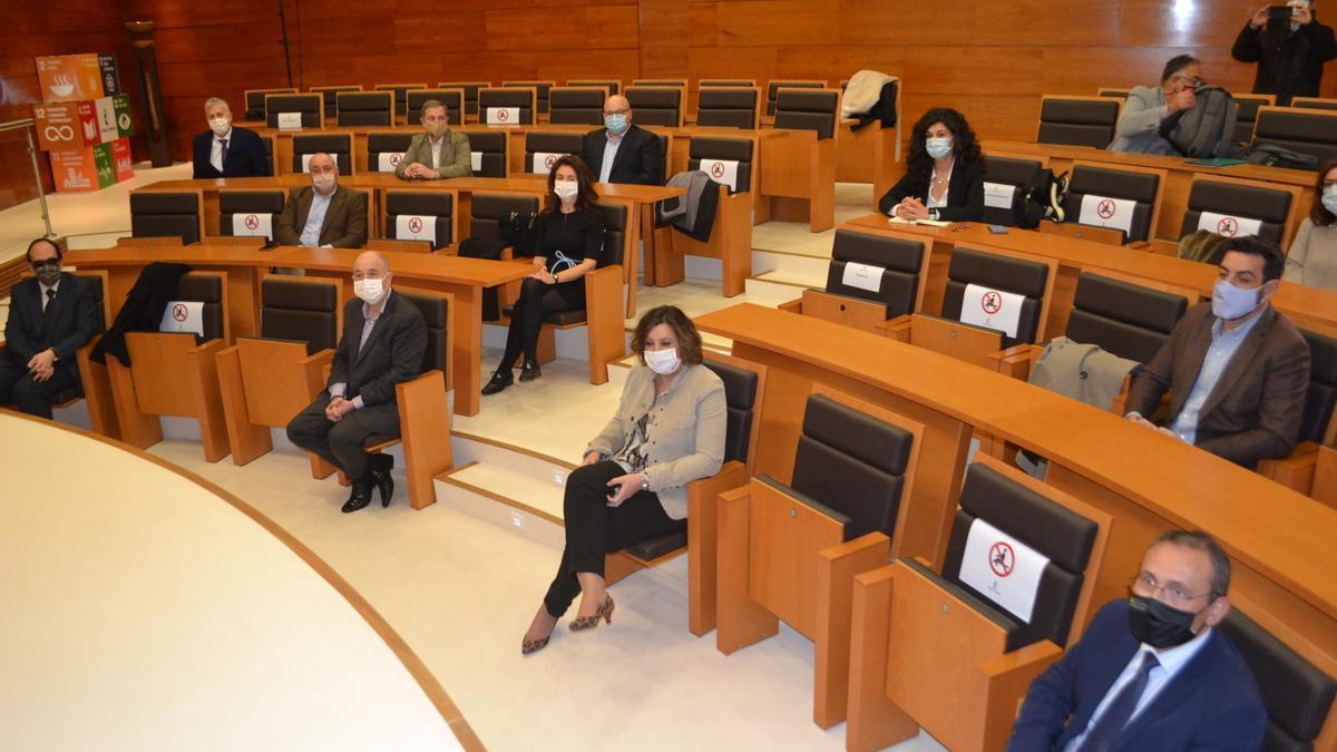Entidades asistentes a la constitución de la Confederación de Asociaciones de Economía Social de Castilla-La Mancha