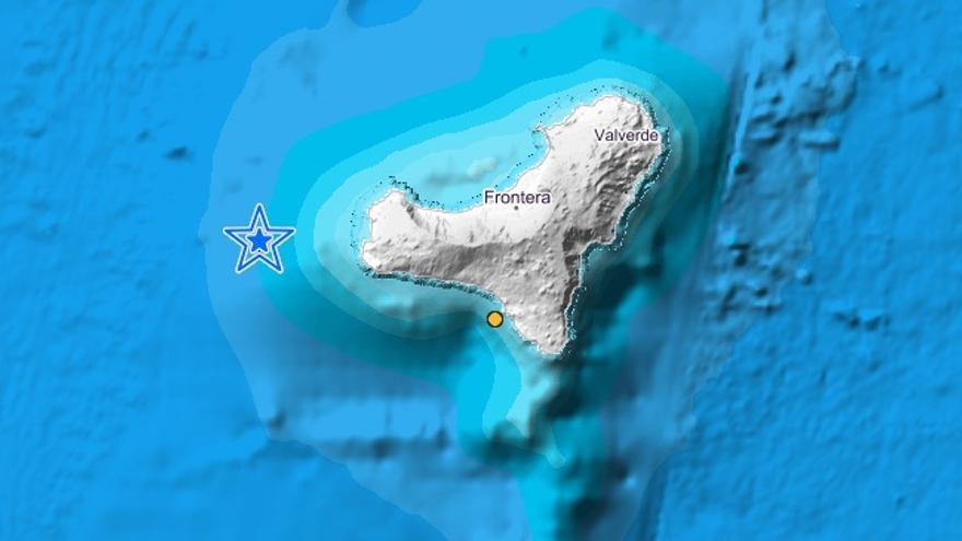 Registrado un segundo terremoto de más de 3 grados en El Hierro