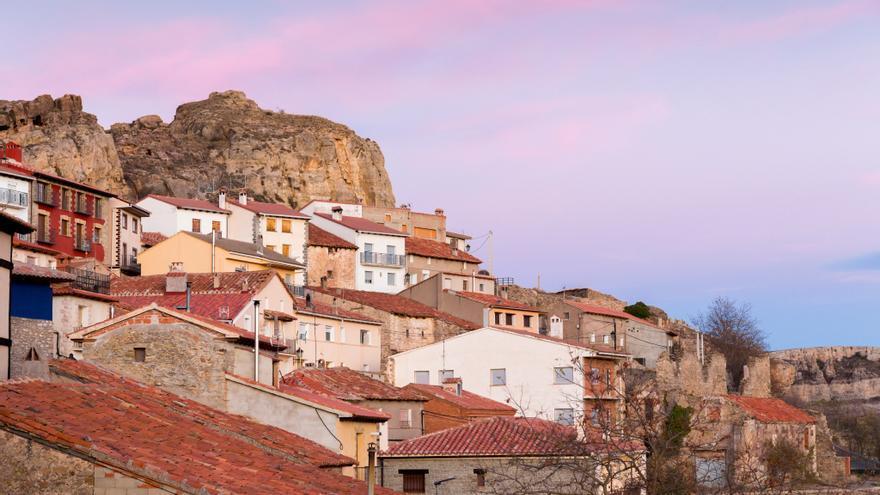 Una imagen de la localidad de Allepuz (Teruel) donde se celebra el II Festival contra la despoblación