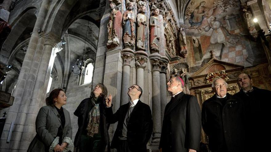 Cultura acomete nuevos trabajos de restauración en la Catedral de Ourense