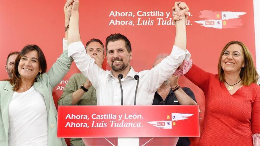 El PSOE gana en Castilla y León y ya mira a Cs para gobernar 32 años después