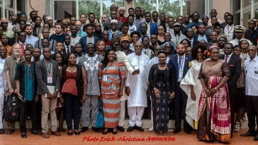 El equipo de Africtivistes.(CHEIKH FALL)