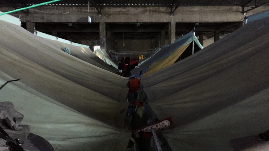 Tiendas del campo de Salónica de Softex | Arantza Diez