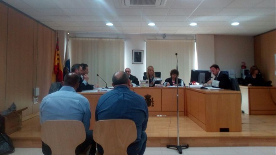 Juicio a dos policías de Fuerteventura acusados de detención ilegal.