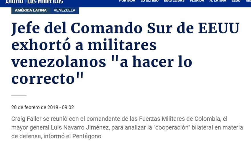 MILITARES HACER LO CORRECTO