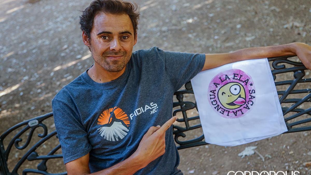 Miguel Angel Roldán, enfermo de ELA
