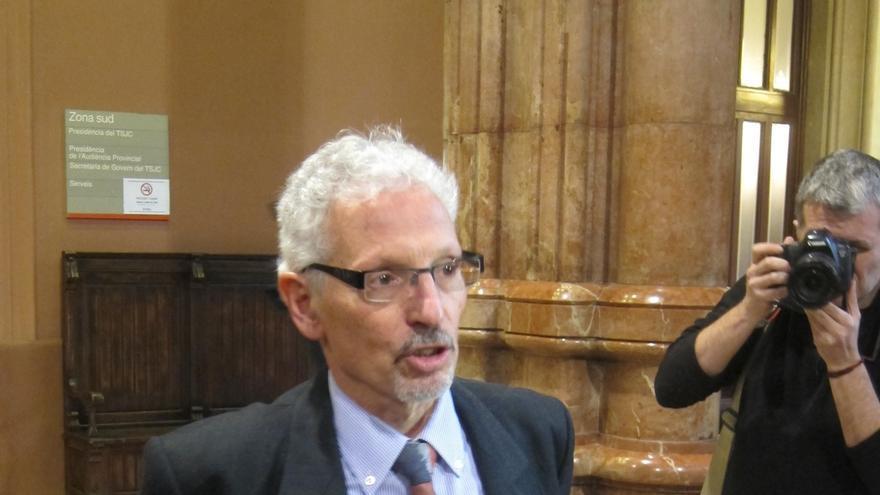 El juez Santiago Vidal en un foro: el Govern tiene los datos fiscales de los catalanes ilegalmente
