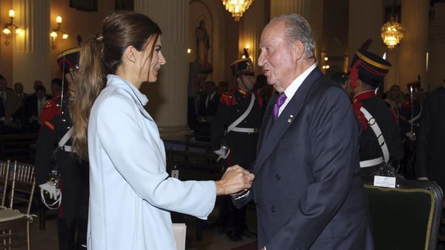 Juan Carlos I da por terminada su visita a Argentina