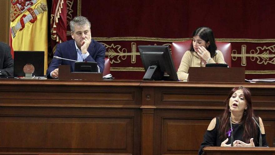 La diputada del grupo de Podemos María del Río Sánchez