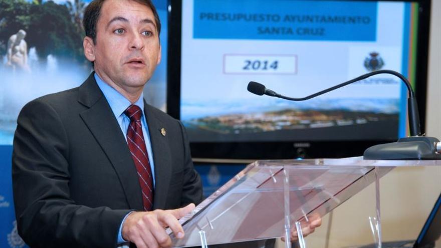 El alcalde de Santa Cruz Tenerife, José Manuel Bermúdez (Cedida a Europa Press)
