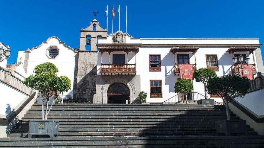 Casas consistoriales de Icod de los Vinos, en una imagen de archivo