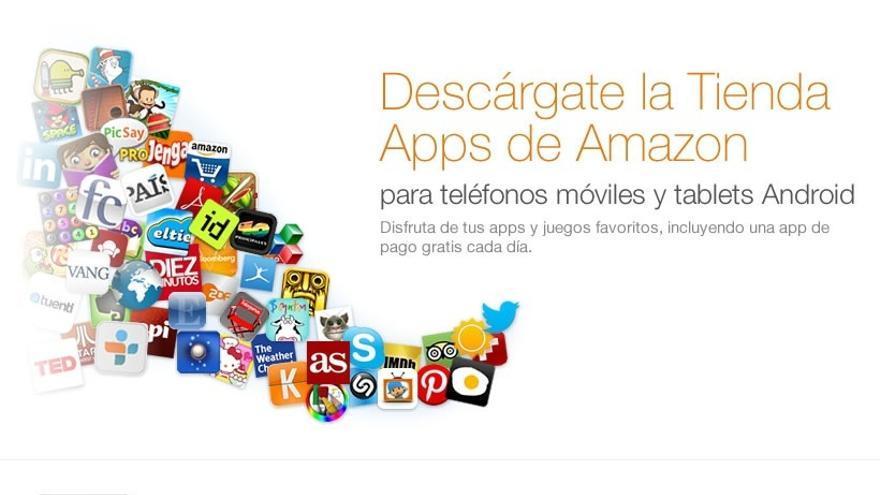 Amazon lanza su tienda de aplicaciones para Android en España y otros cuatro países europeos