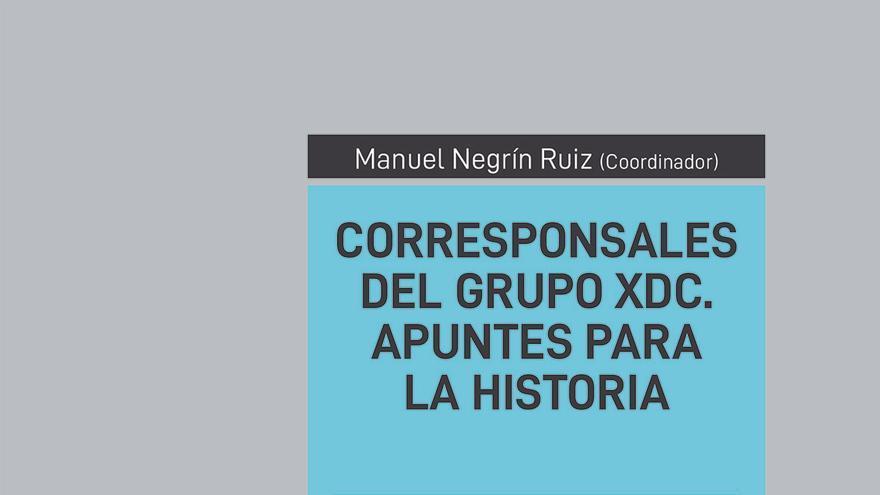 Portada del libro 'Corresponsales del Grupo XDC'.