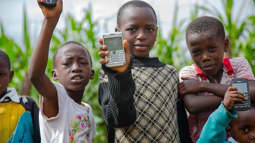 Campaña de Wikipedia Zero en Nairobi. Foto: Omaranabulsi/Wikimedia Commons.