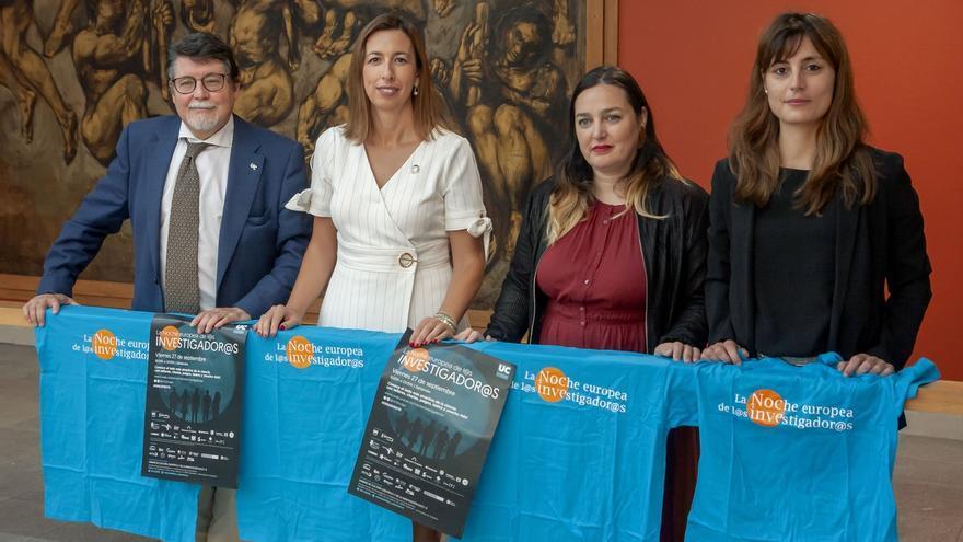 La Noche Europea de los Investigadores vuelve el día 27 a Santander con más de 30 actividades