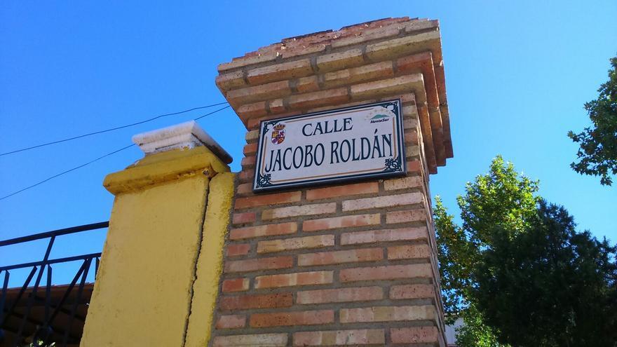 Calle dedicada a un gobernador civil franquista en Almadén (Ciudad Real)