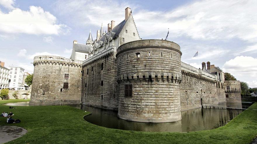 Castillo de los duques de Bretaña, en el barrio de Bouffey.