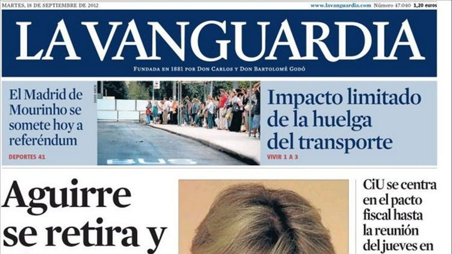De las portadas del día (18/09/2012) #11