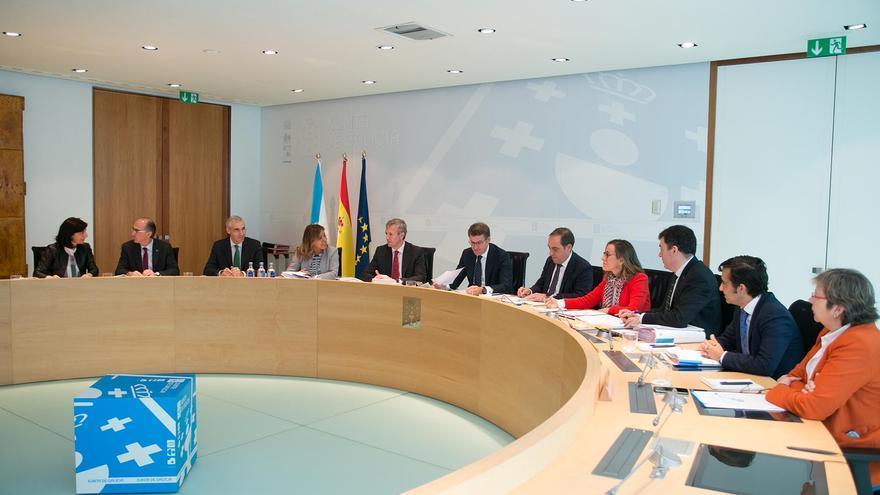 Reunión semanal del Consello da Xunta