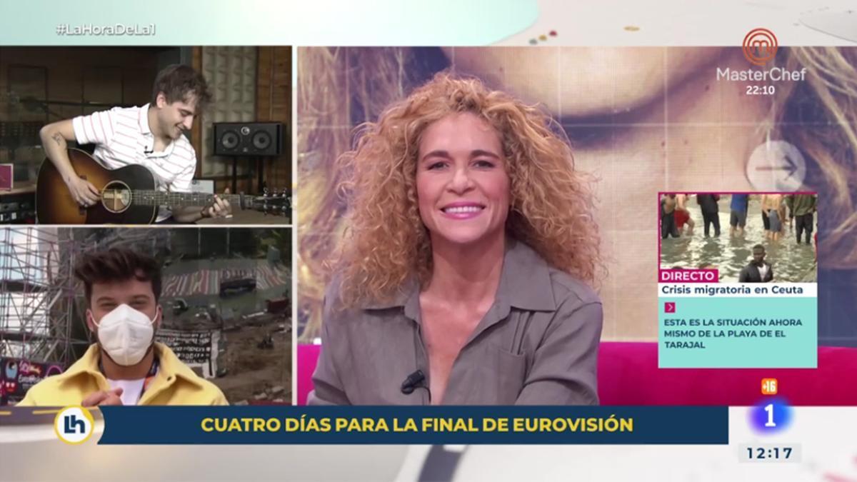 Blas Cantó en 'La Hora de La 1'