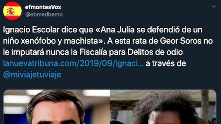 Hilo de Twitter Tribuna de España