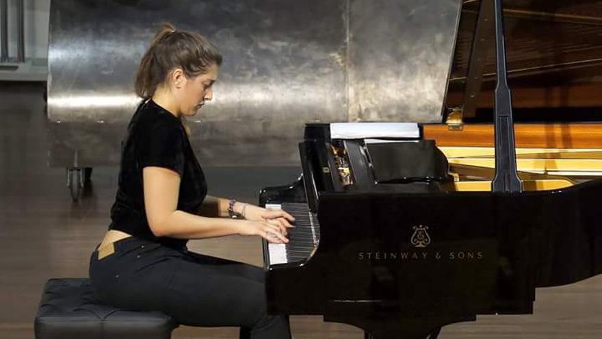 La pianista Kenia Pavlyuchenkova.