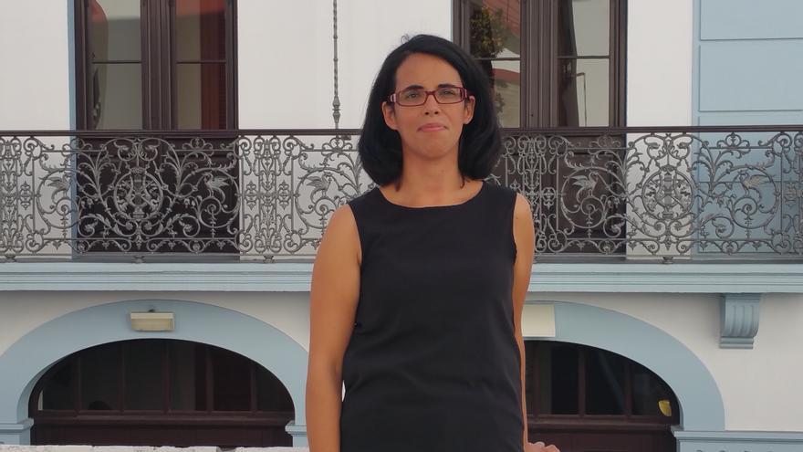 Ana Martín es voluntaria cultural del Teatro Circo de Marte. Foto: LUZ RODRÍGUEZ.