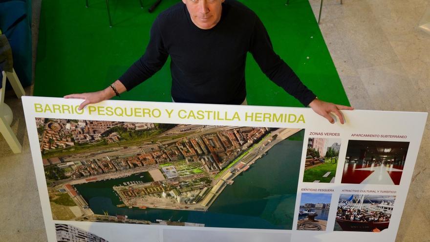 """PRC quiere """"un parking subterráneo, un centro cívico y más espacios verdes"""" en Castilla-Hermida"""