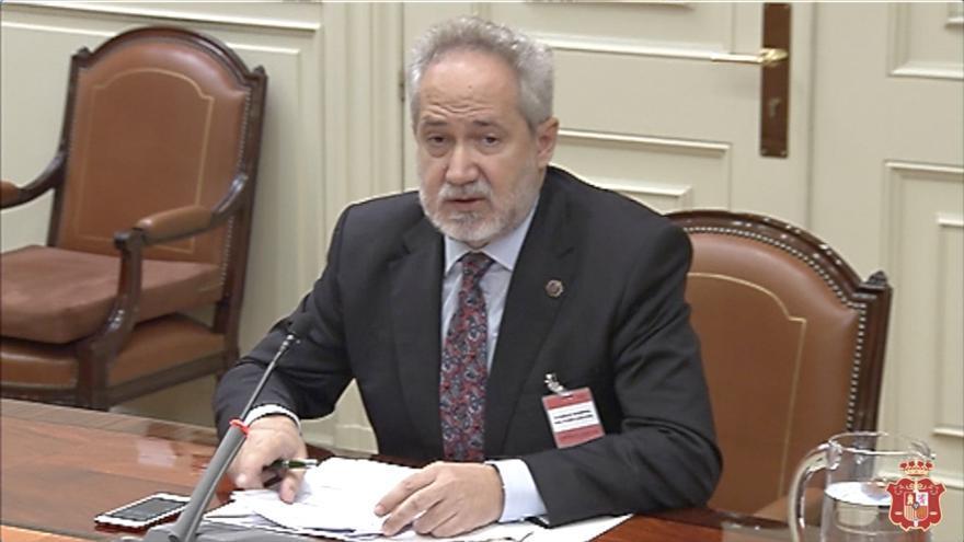 Emilio Moya, presidente de la Audiencia Provincial de Las Palmas.