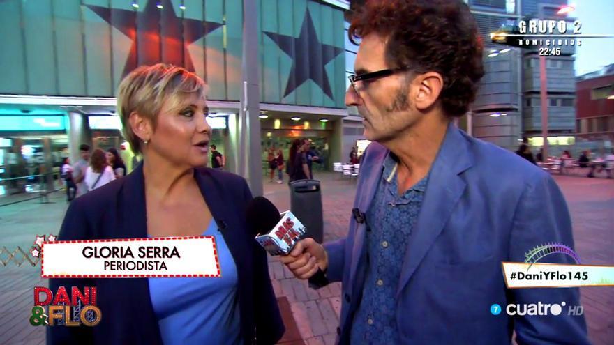 Gloria Serra de laSexta se cuela por sorpresa en Cuatro