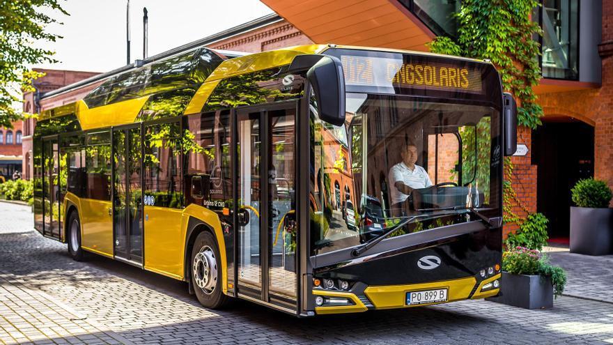Autobús GNC de Solaris
