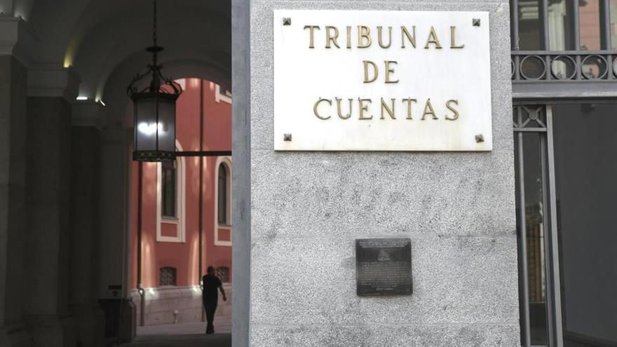 Fotografía de archivo de la sede principal del Tribunal de Cuentas.
