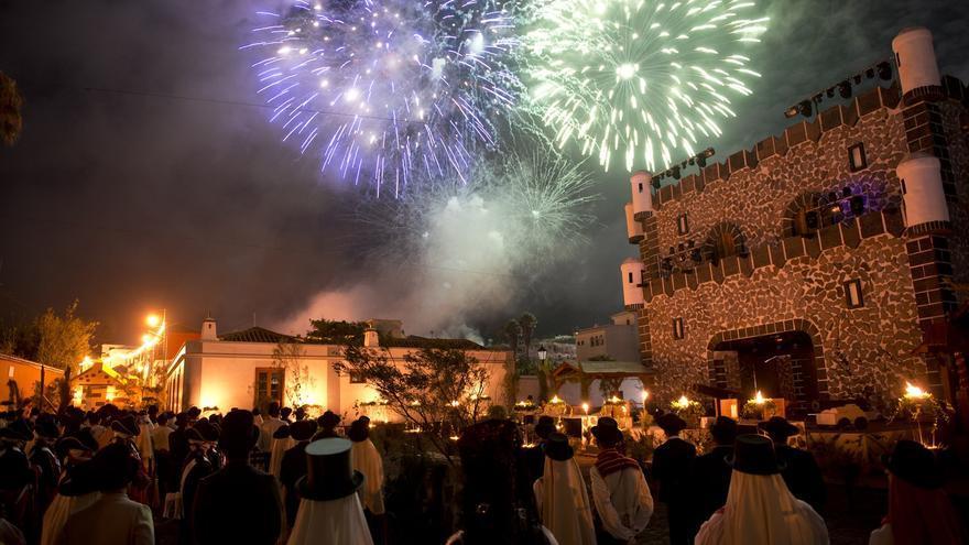 Imagen de archivo de la Librea de Tegueste, un espectáculo tradicional y multitudinario