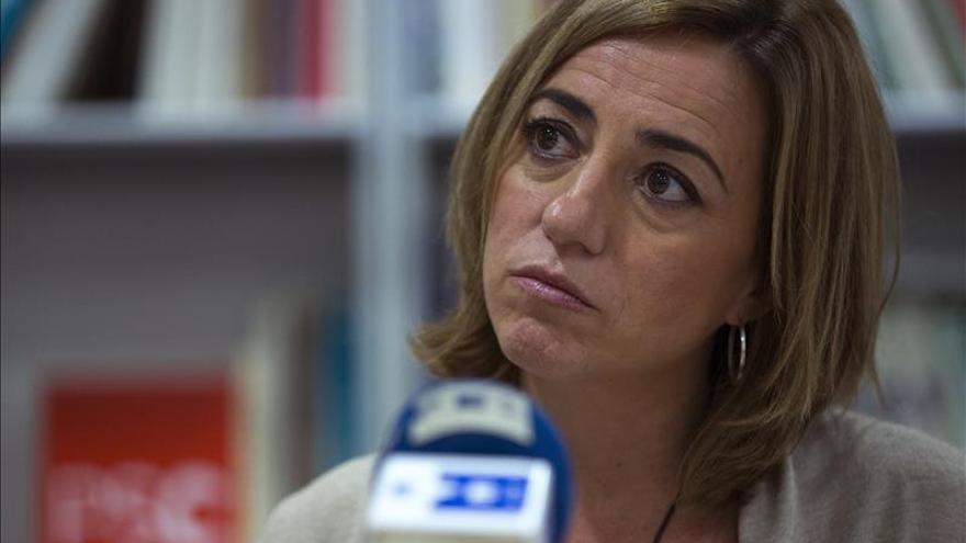 """Carme Chacón pide """"aprender de los errores de Irak"""" y no bombardear Siria"""