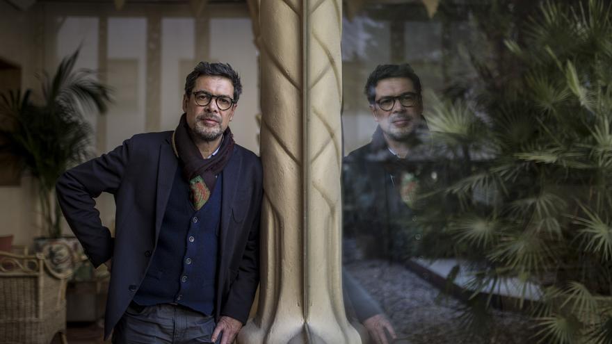 José Ángel Hevia en la entrevista con eldiario.es.