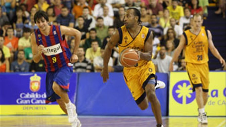Norris jugará ante el CB Granada su partido número 150 en la Liga ACB. (QUIQUE CURBELO)