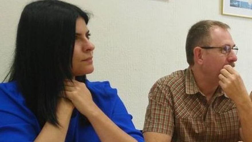 Mila Hormiga, consejera de Podemos en el Cabildo de Tenerife