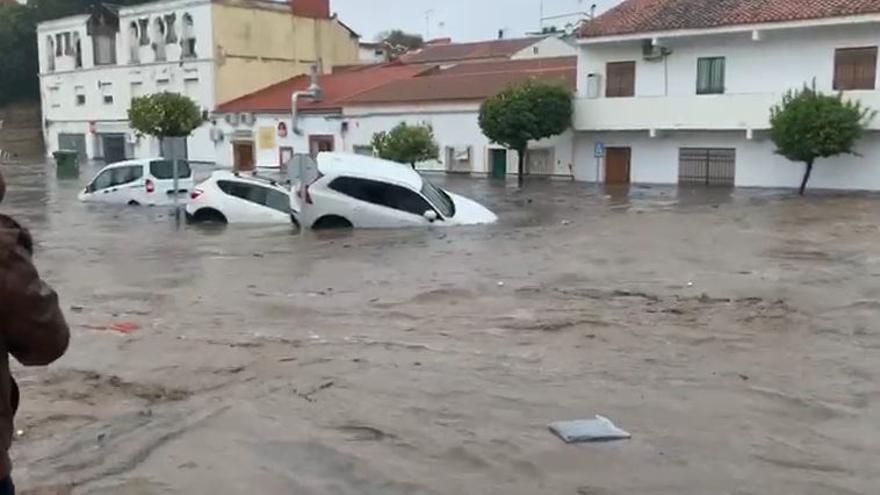 Graves inundaciones en Nerva y una treintena de incidencias atendidas en la provincia