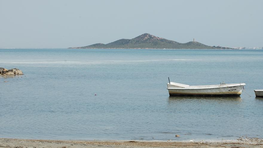 Marea blanca en el Mar Menor / Julio Mas