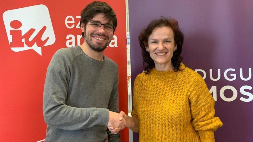 Podemos Euskadi y Ezker Anitza-IU registran la coalición Elkarrekin Podemos-IU con la que concurrirán el 5 de abril