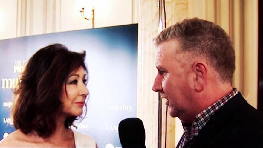 Ana Rosa, entrevistada por su compañero fallecido Paco Blanco