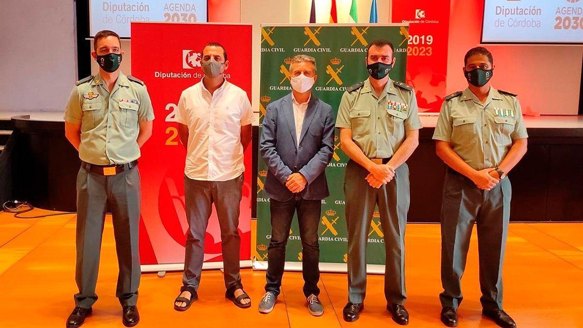 El Instituto Provincial de Bienestar Social y la Guardia Civil suscriben un acuerdo.