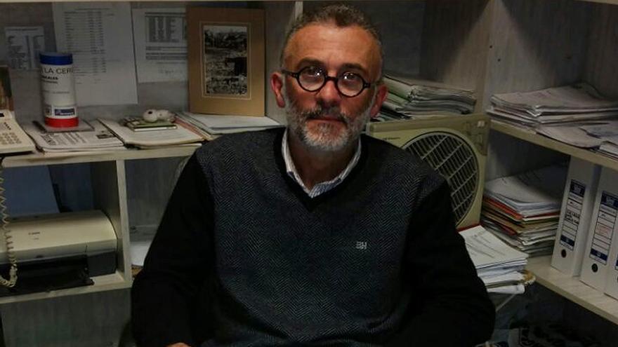 Ignacio Rodríguez Marrero, secretario de Comunicación de IC en Tenerife.