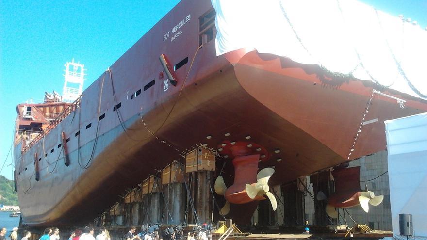 Comité de empresa de La Naval alerta de que en marzo el astillero se queda sin carga de trabajo y con riesgo de cierre