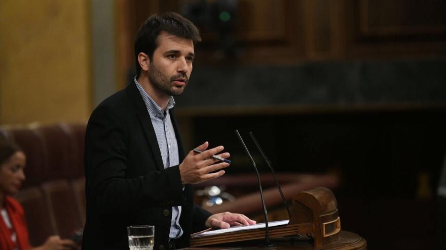 El diputado de Unidas Podemos Javier Sánchez Serna