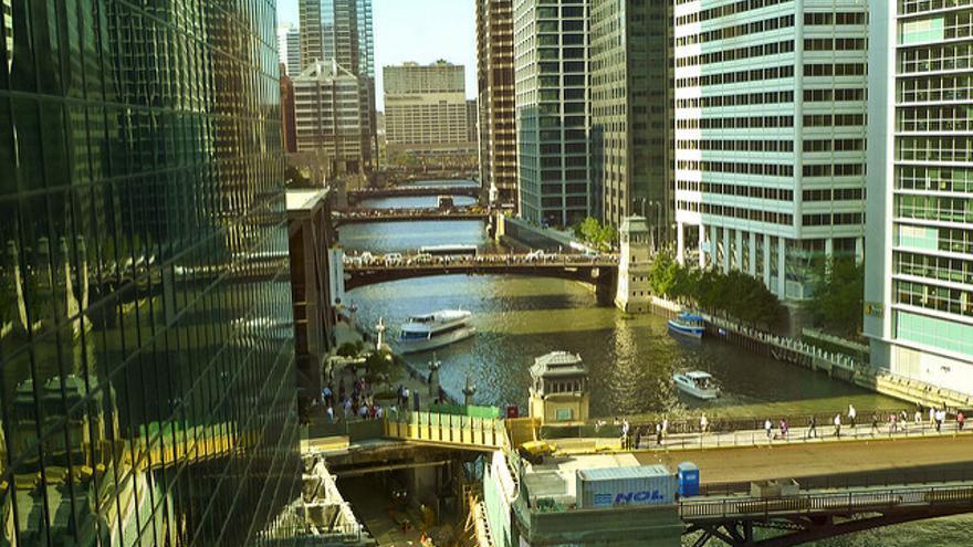 Chicago River, una de las 'calles' más animadas de Chicago. John Walker