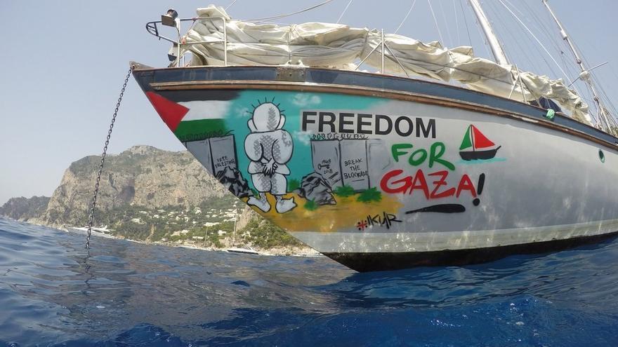 Retenido en Israel un concejal de Alájar que tripulaba el segundo barco interceptado de la Flotilla Libertad