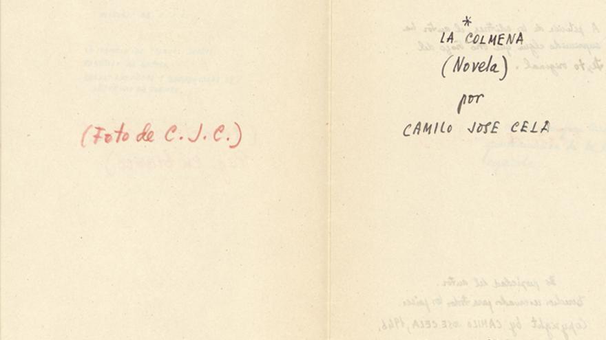 La colmena, de Camilo José Cela. Diseño de la portada para la editorial Zodiaco