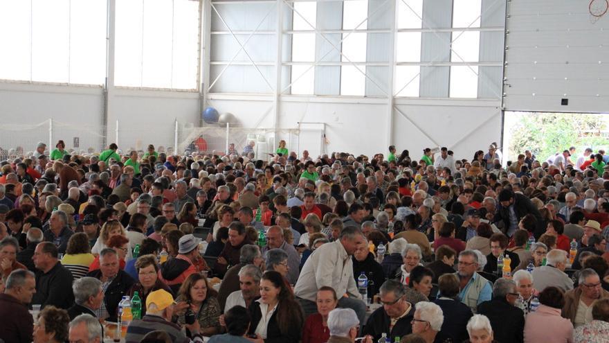 Encuentro de mayores en Puntagorda.