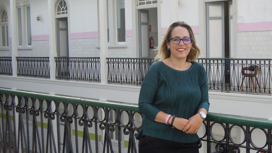 La consejera Susana Machín en el Hospital de Dolores.